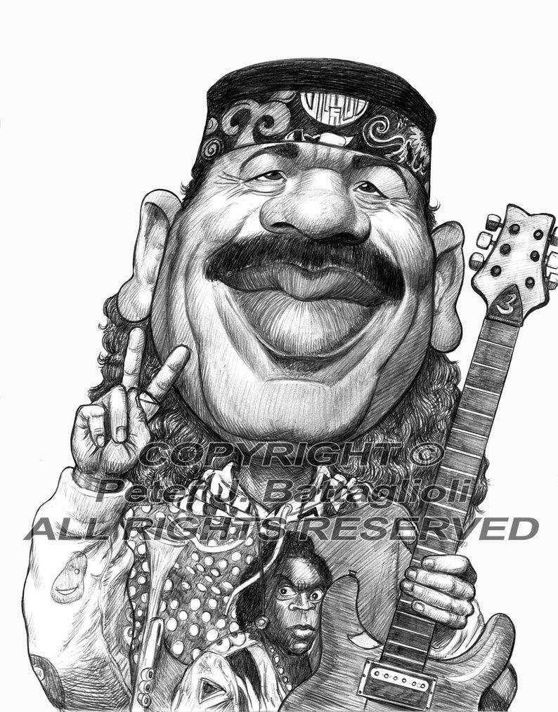 Carlos Santana Decal FREE US SHIPPING