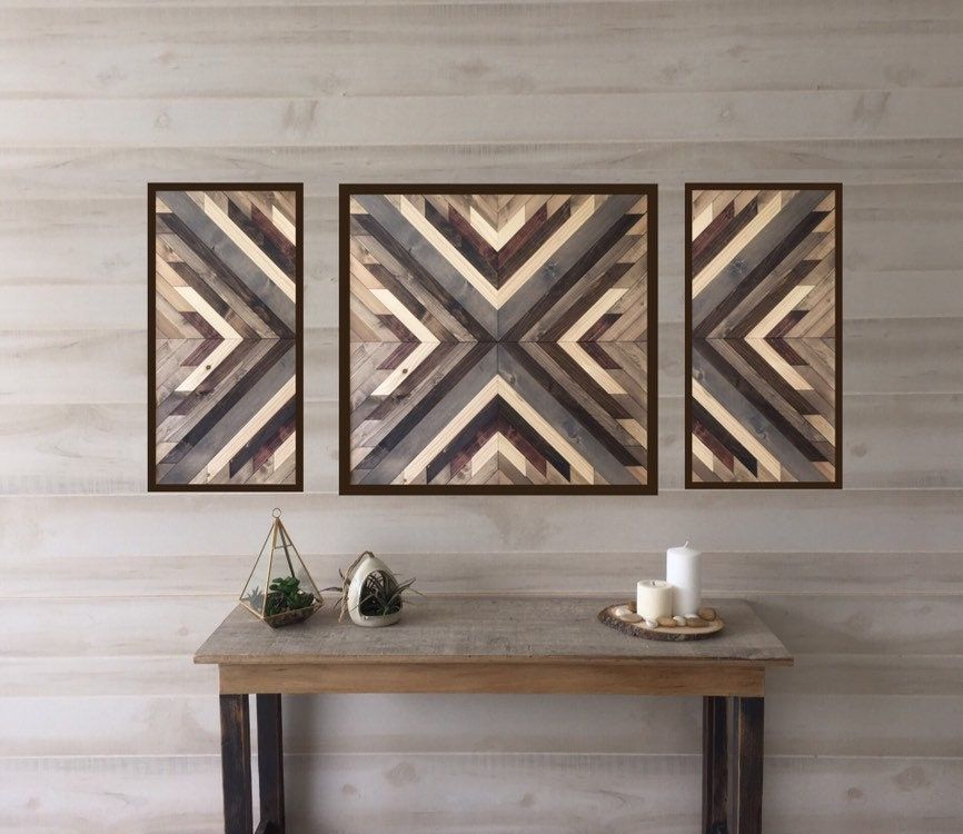 Wood Wall Art, Wall Art, Wood Wall Decor, Southwest Decor, Modern Wall Art, Living  Room Wall Art, Modern Farmhouse Decor