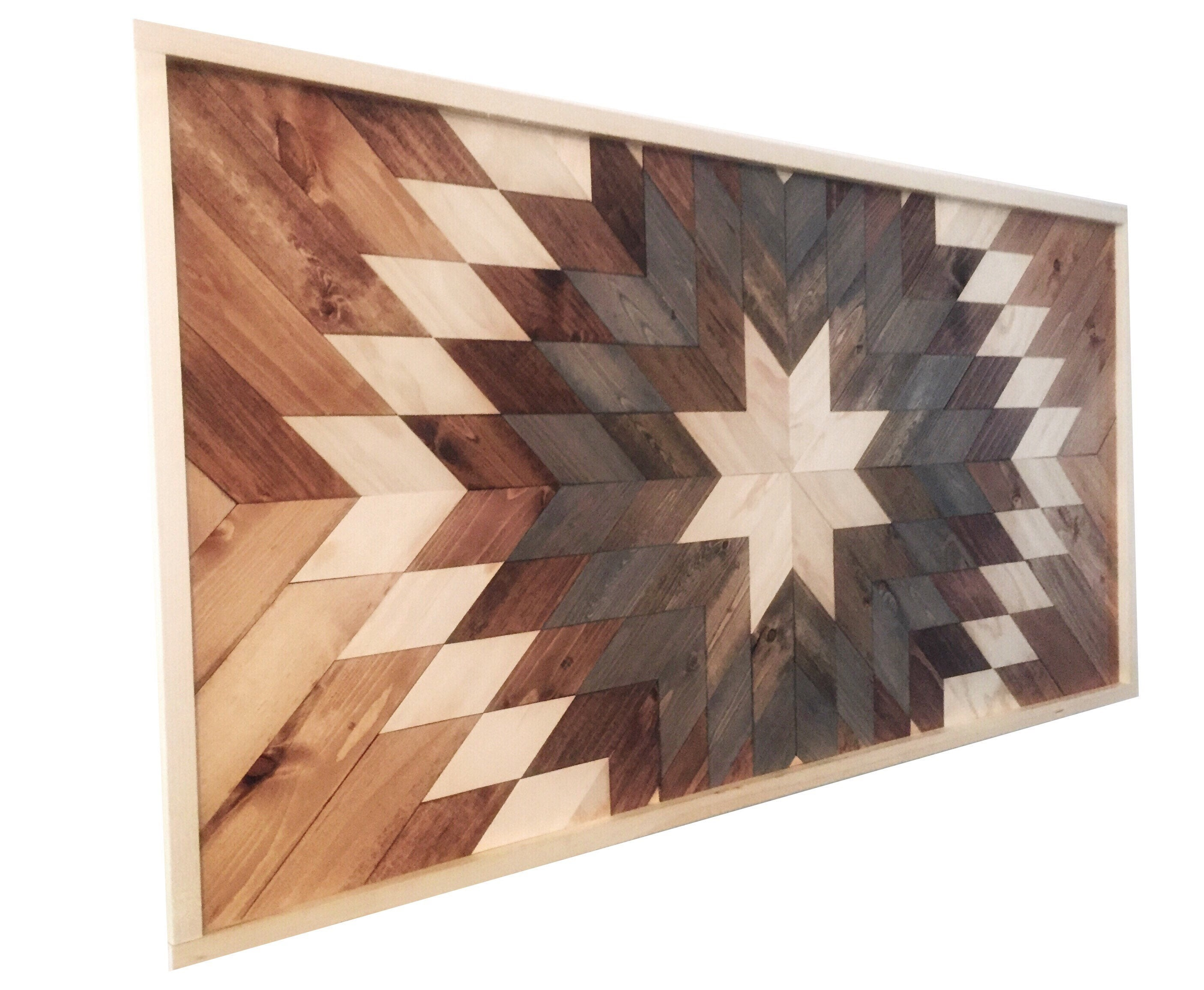 Wood wall art reclaimed wood wall decor