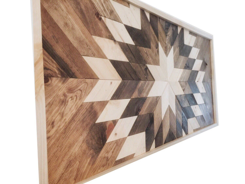 Reclaimed wood wall art wood wall decor modern wall decor wooden sun burst barn wood decor farmhouse decor