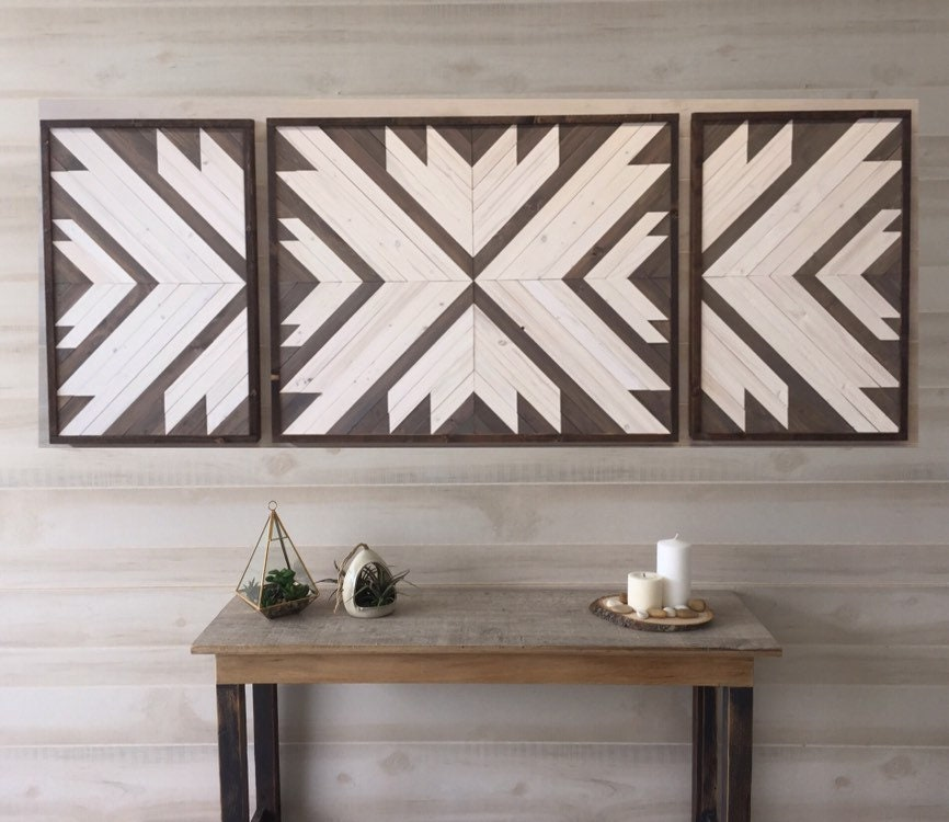 Wood Wall Art Wood Wall Decor Living Room Decor Modern Wall Art