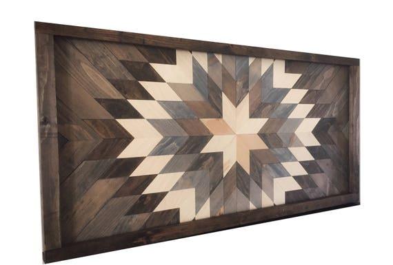 Wood Wall Art Reclaimed Wood Decor Wood Art Modern Wall | Etsy