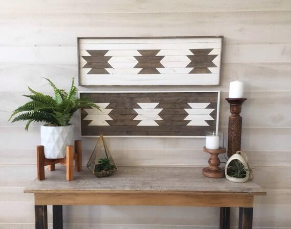 Holz Wand Kunst Altholz Aztekische Kunst Wohnzimmer Dekor Etsy