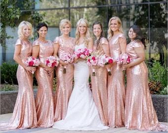 22ac056872 Bridesmaid Dress Sparkly