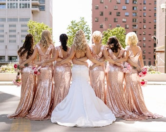 Gold Bridesmaid Dress Etsy