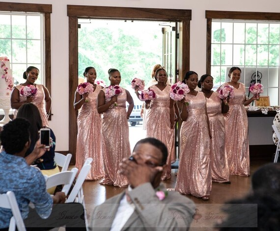 Beige Elegant V Neck Bridesmaid Dress: Plus Size Bridesmaid DressElegant V Neck Prom Dress