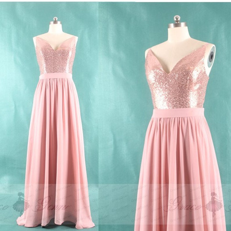 0dbcd8c0271 Dusty Rose Bridesmaid Dress Plus Size DressSpaghetti Strap