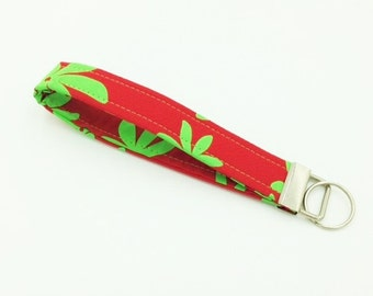 Key Fob, Key Chain, Wristlet, Hawaiian Key Fob