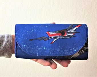 Tri-Fold Wallet, Women's Wallet, Fandom Wallet, Slim Wallet, Geek Wallet, Star Wars Wallet, Travel Purse