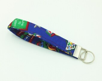 Key Fob, Key Chain, Wristlet, Teacher Key Fob