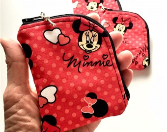 Essential Oil Roller Bottle Case, Lipstick/Chapstick Pouch, Essential Oil Roller Bottle Travel Pouch, Roller Bottle Carrying Case in Minnie