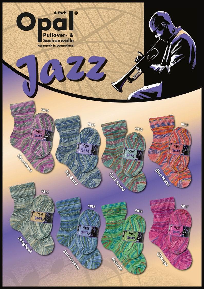 Opal Jazz 4 Ply Sock Yarn image 0
