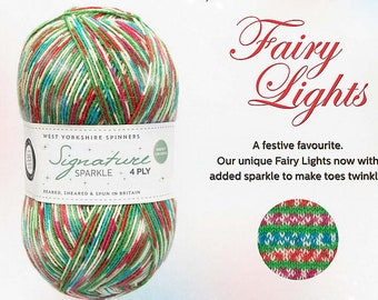 West Yorkshire Spinners Fairy Lights 4 Ply Sock Yarn