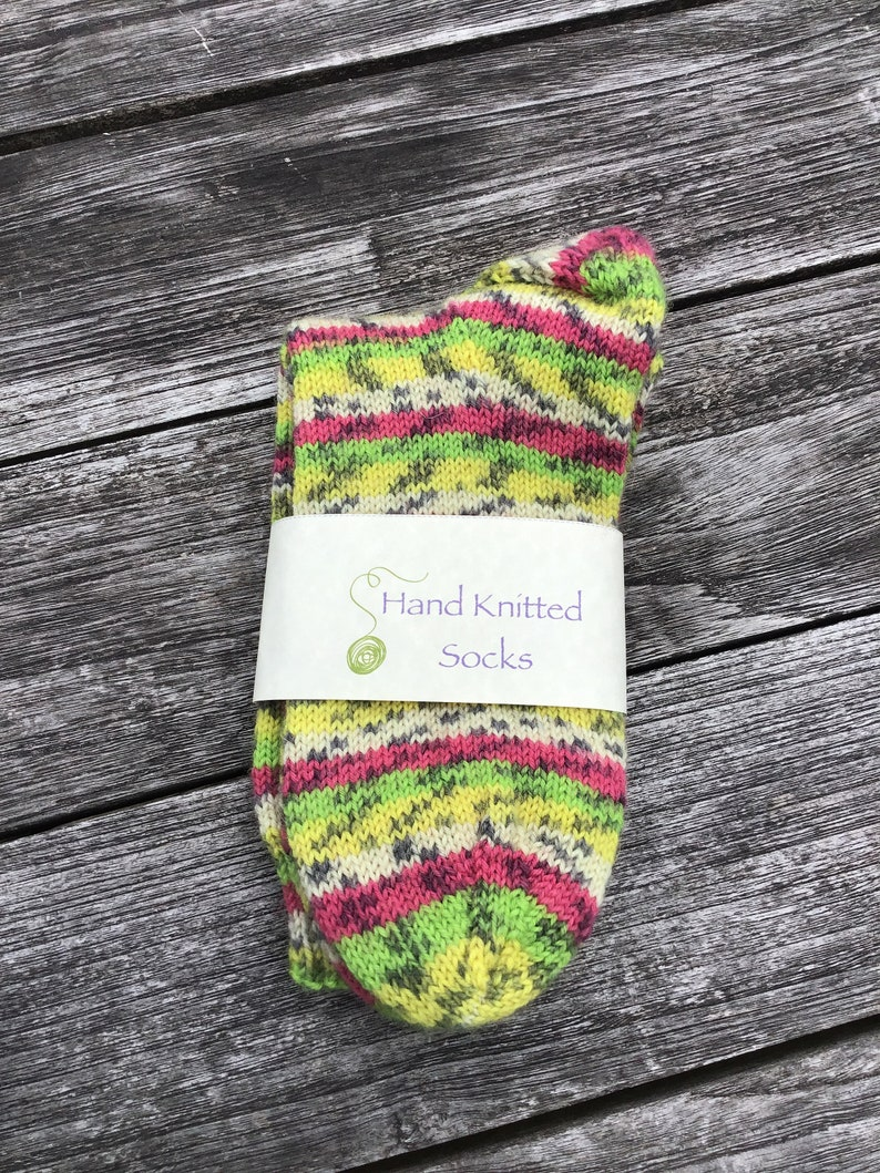 Hand Knitted Socks   S4 image 0