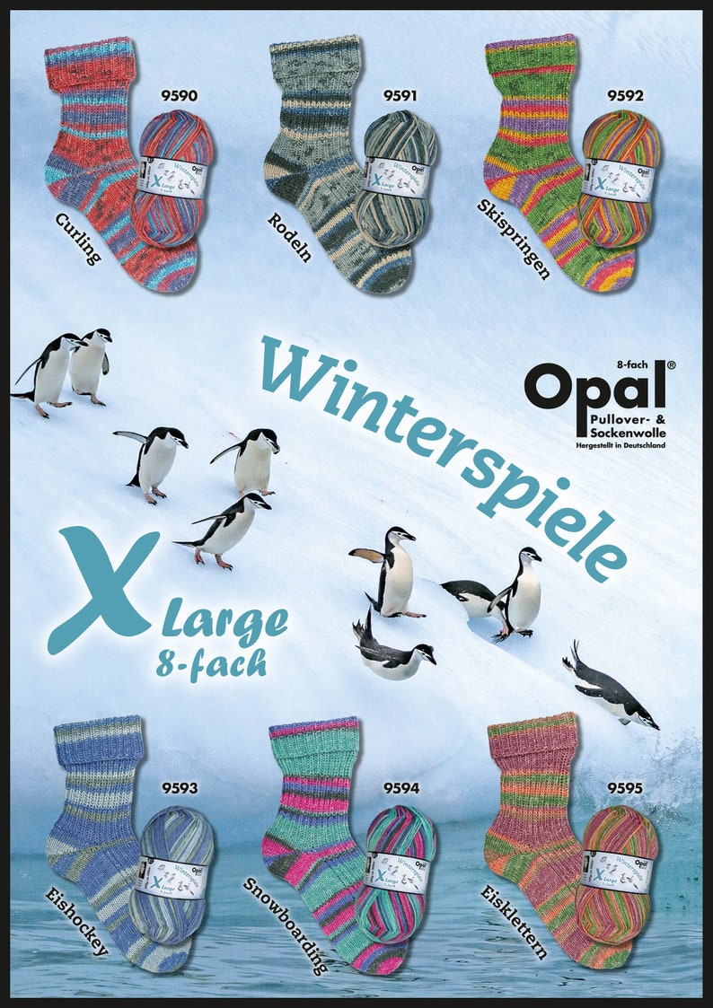 Opal Wintersport 8 Ply DK Sock Yarn image 0