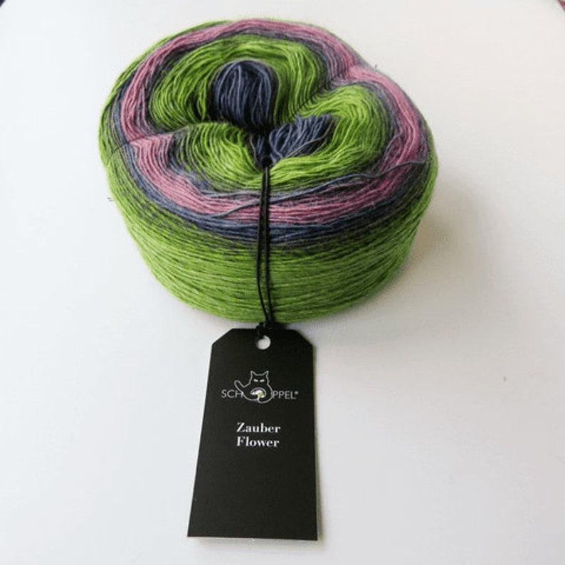 Schoppel Wolle Zauber Flower 4 Ply Yarn 2170 Pale Shimmer