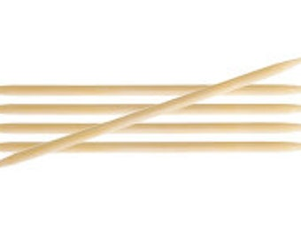 KnitPro Bamboo Double Pointed Needles 15cm Length