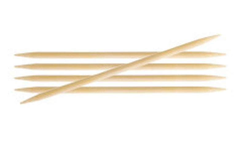 KnitPro Bamboo Double Pointed Needles 15cm Length 4.00mm
