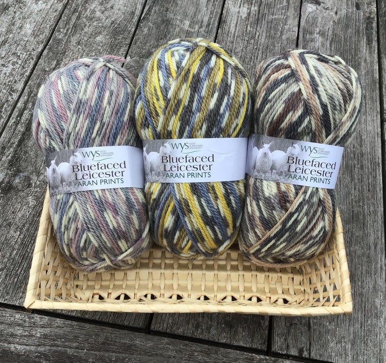 West Yorkshire Spinners Bluefaced Leicester Aran Prints image 0
