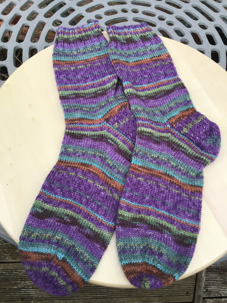 Hand Knitted Socks. S1 image 0