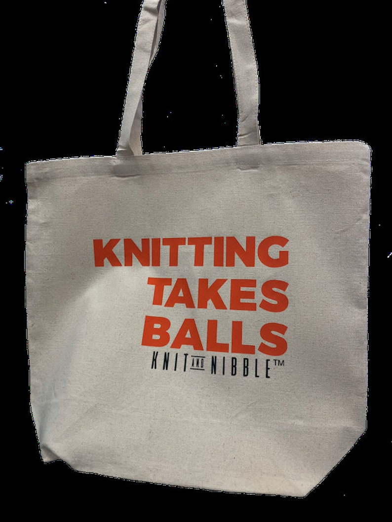 Knit and Nibble Knitting  Project Bags image 0