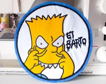 El Barto Handmade Back Patch