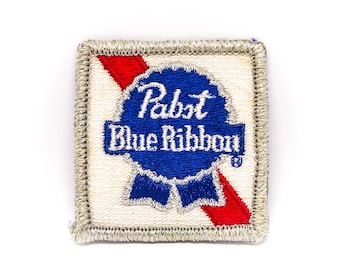 Vintage Pabst Blue Ribbon Beer Patch