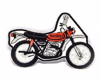 Vintage Montesa Motorcycle Patch