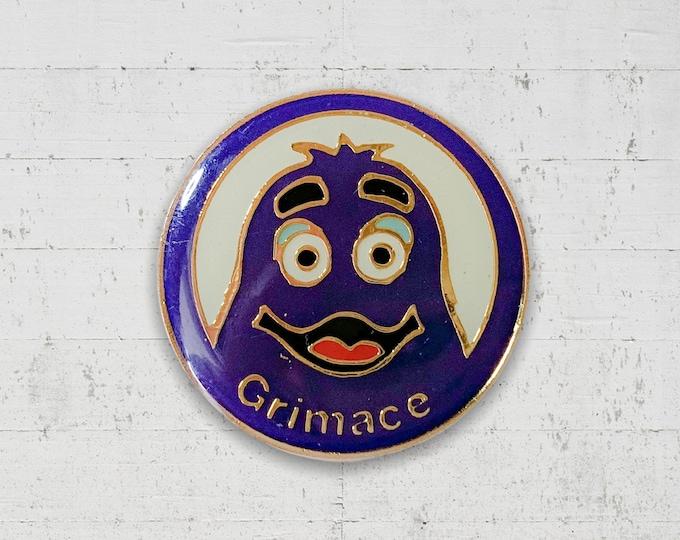 Grimace 1980s Enamel Pin