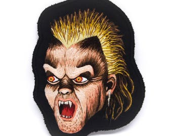David Lost Boys Hand Embroidered Patch Art - 1987 Collection