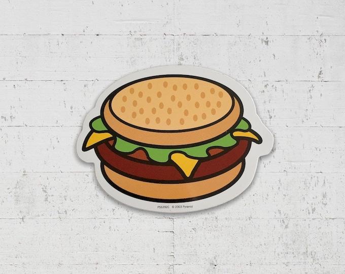 Cheeseburger Vinyl Sticker