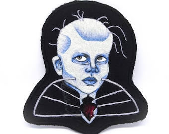 Female Cenobite Hand Embroidered Patch Art - 1987 Collection