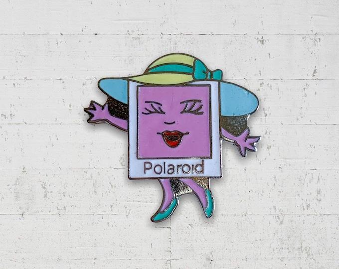 Polaroid 1990s Enamel Pin