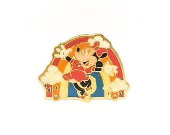 Vintage Minnie Mouse Enamel Pin