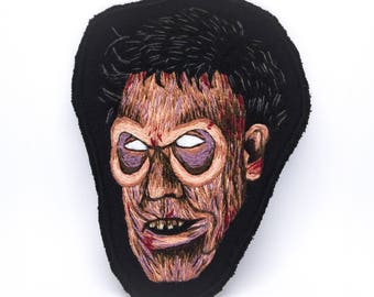 Deadite Ash Hand Embroidered Patch Art - 1987 Collection