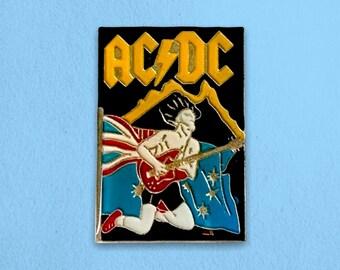 ACDC Enamel Pin - 1980s