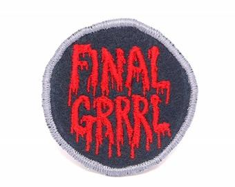 Final Grrrl Handmade Patch