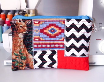 Northern Lodge Patchwork Pouch