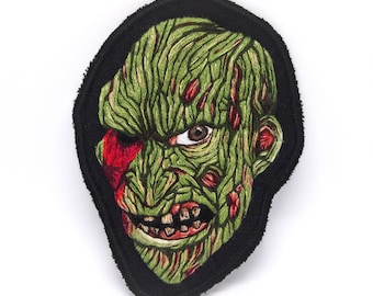 Freddy Krueger Snake Hand Embroidered Patch Art - 1987 Collection