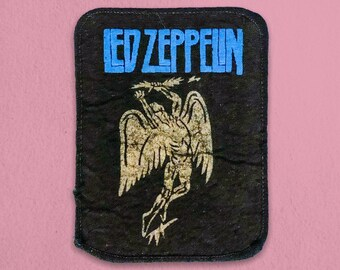 Led Zeppelin Vintage Patch - 1980s