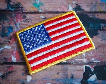 US Flag Vintage Patch - 1980s