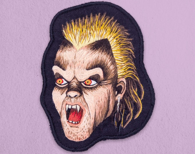 Featured listing image: 1987 Series - Lost Boy David Hand Embroidered Patch