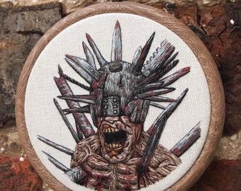 Rad Stitched Wall Art