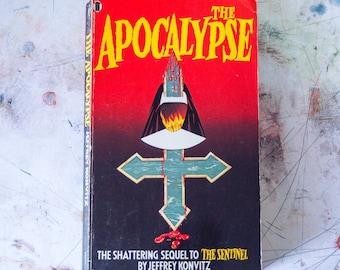 The Apocalypse by Jeffrey Konvitz 1978 Paperback Book