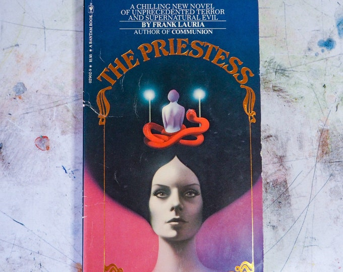 Featured listing image: The Priestess by Frank Lauria 1978 Paperback Book