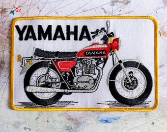 Yamaha Motorcycle Vintage Patch - 1980s