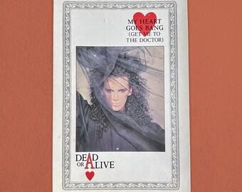Dead or Alive Vintage Postcard