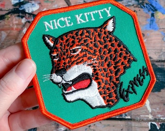 Nice Kitty Express Vintage Patch - 1980s