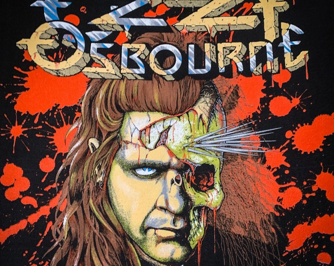 Featured listing image: Ozzy Osbourne Vintage Back Patch - 1991