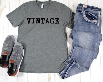52f31d29 Vintage T shirt, Dad shirt, men's t shirts with words, funny t shirts, graphic  tees, Father's Day gifts